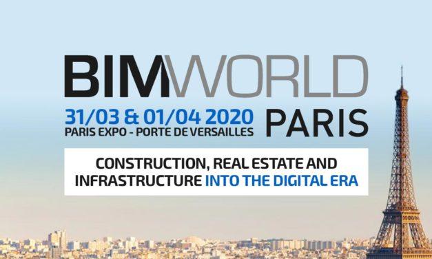Evénement BIM WORLD PARIS : découvrez l'édition 2020